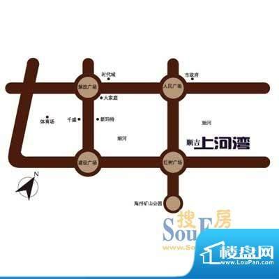 顺吉·上河湾交通图