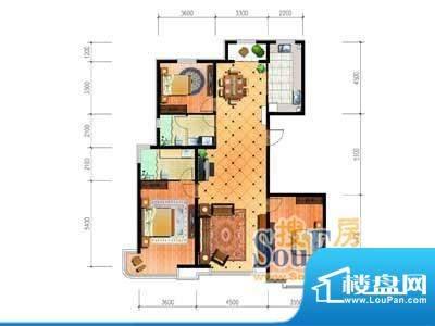 大唐·荣城A5户型 3面积:158.67m平米