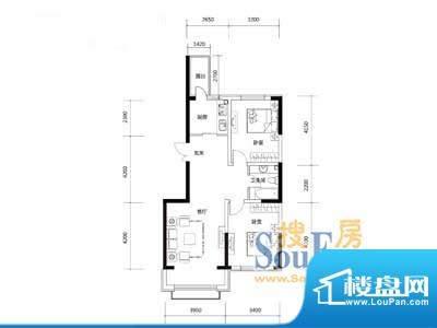 圣鸣鹿苑2#楼4.6.8.面积:83.95m平米