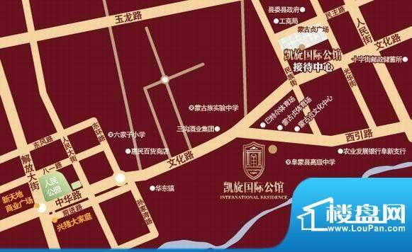 兴光·凯旋国际公馆交通图