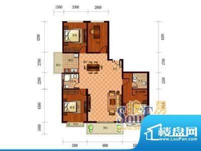 恒盛国际A1 4室2厅2面积:179.75m平米