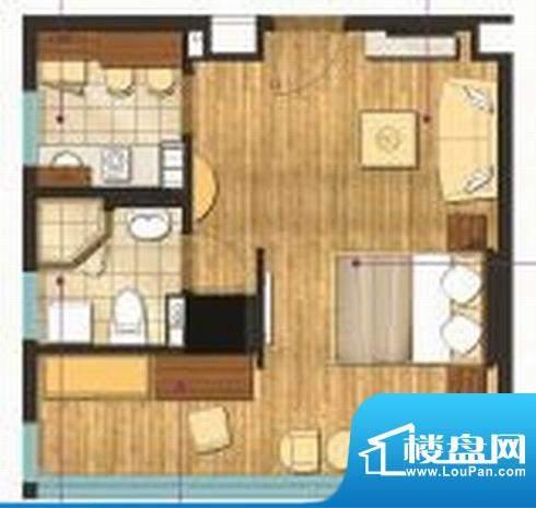 九洲新世界 0室 户型图