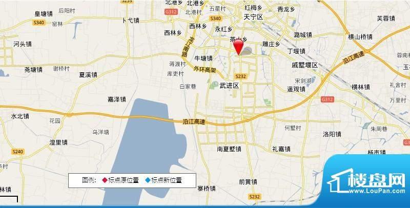 绿地白金汉宫交通图