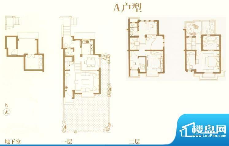 东渡海派青城户型图A户型 5室2面积:135.00平米