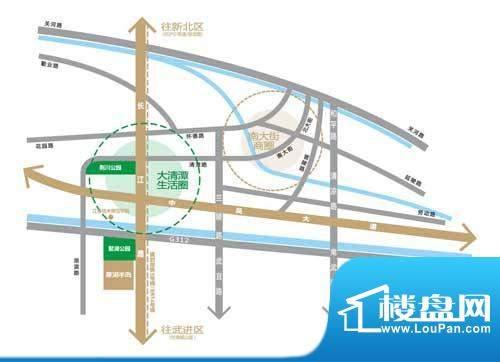 聚湖半岛交通图