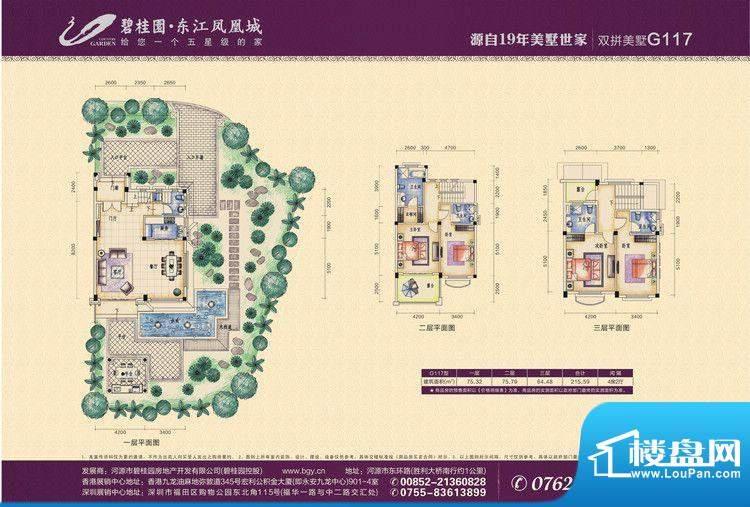 碧桂园东江凤凰城G1面积:0.00m平米