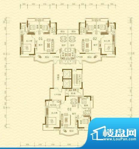 香堤雅湾3号楼A栋 面积:0.00m平米