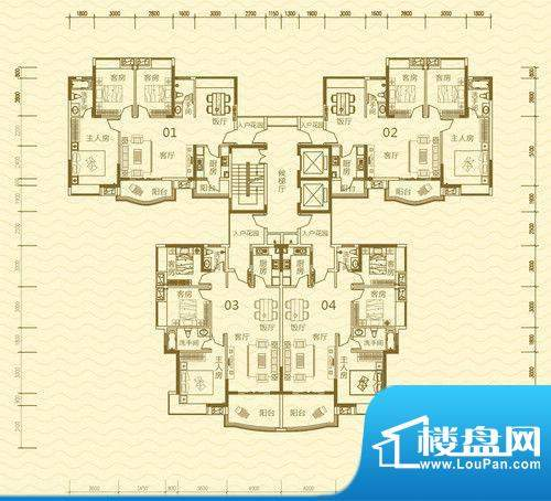 香堤雅湾3号楼B栋 面积:0.00m平米