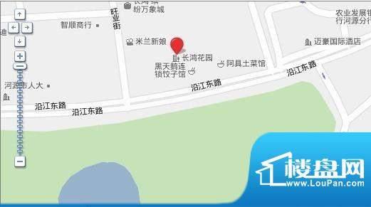 长鸿·御城交通图