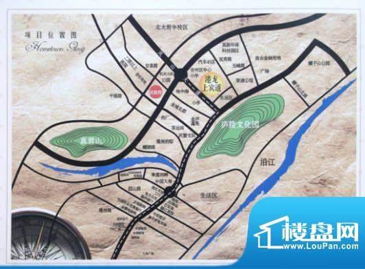 港龙·上宾道实景图