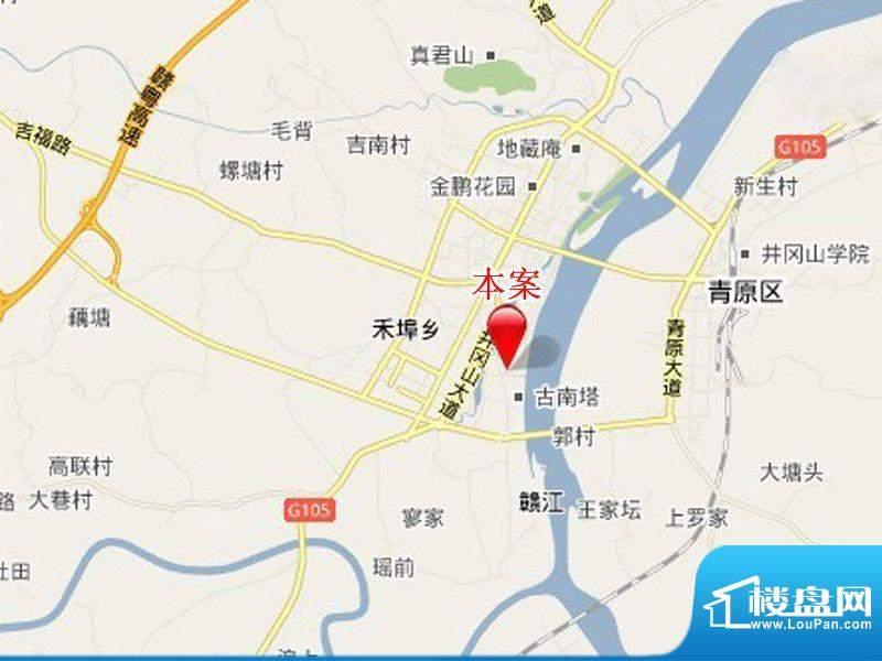 滨江六合盛世交通图