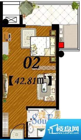 水岸名都3号楼户型平面积:0.00m平米