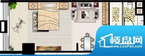 新世界广场户型2 面积:0.00m平米