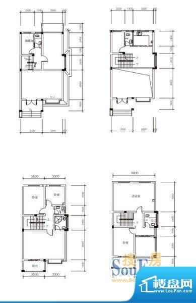 长旺人家户型 面积:0.00m平米