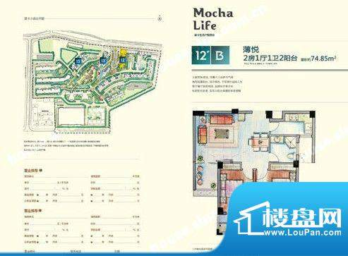 摩卡小镇4 面积:0.00m平米