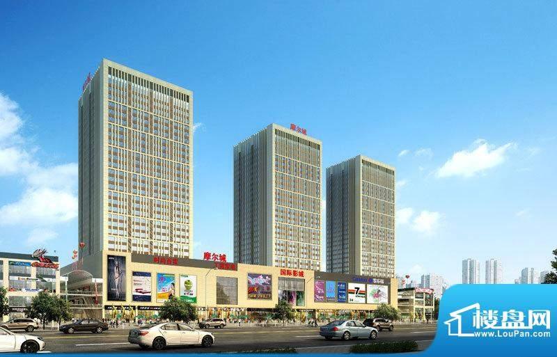荆州摩尔城外景图