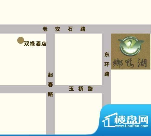 乡鸭湖交通图