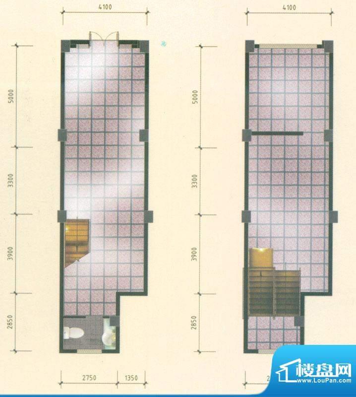 乡鸭湖户型图商铺A户型 1室3厅面积:120.00平米