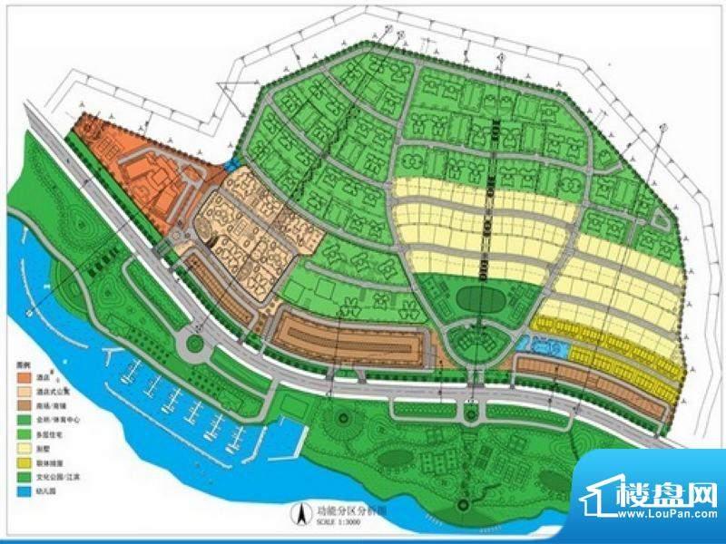 湄公河畔效果图区位规划图