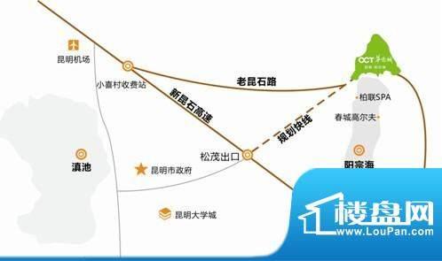 云南华侨城交通图