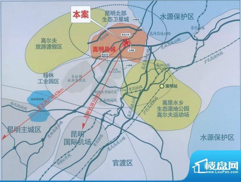 银杏人家交通图