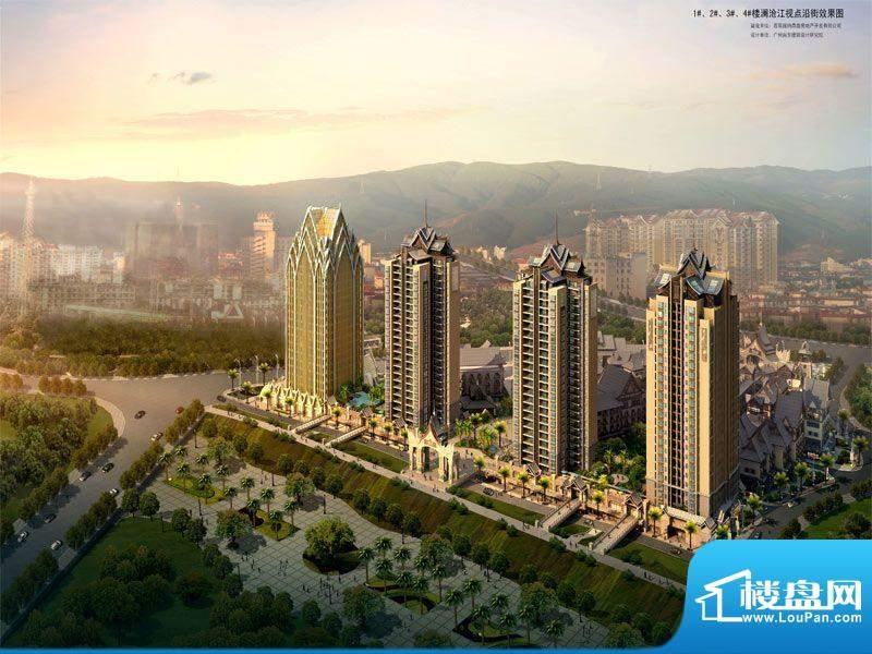曼景兰古城实景图
