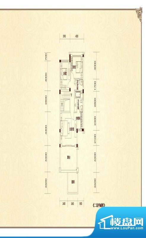 恒大金碧天下二期户型图B1-1户面积:179.06平米