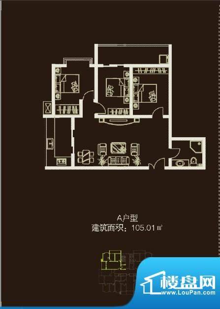 左邻右舍105.01m&su面积:0.00m平米