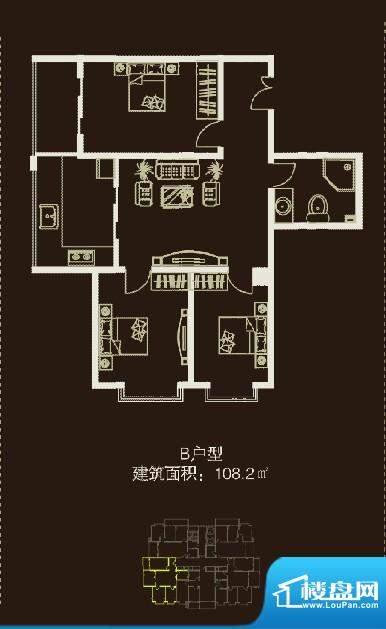 左邻右舍108.2m&sup面积:0.00m平米