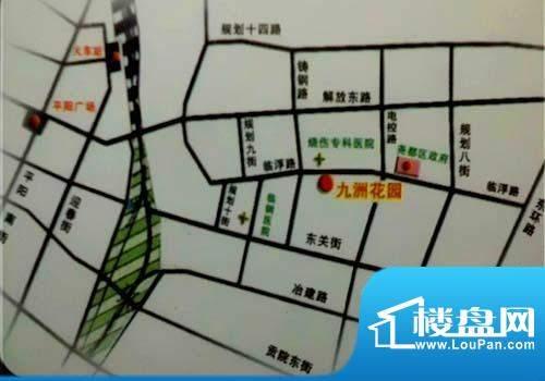 九州花园交通图