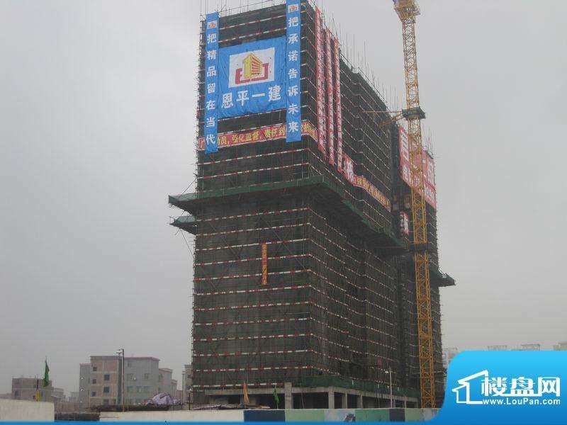 君汇上城小区施工外景图(2012-02)