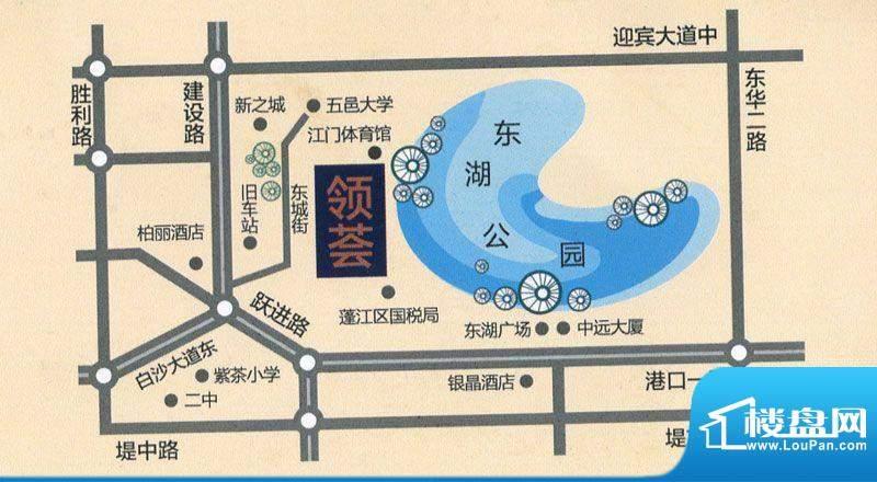 国翔·领荟交通图