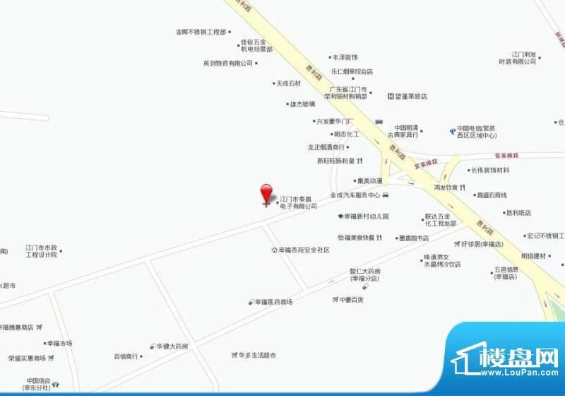 中凯豪庭交通图