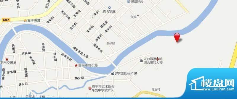锦江国际新城交通图