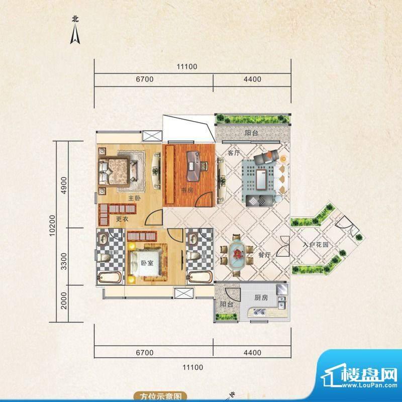 锦江国际新城6/5栋0面积:119.00m平米