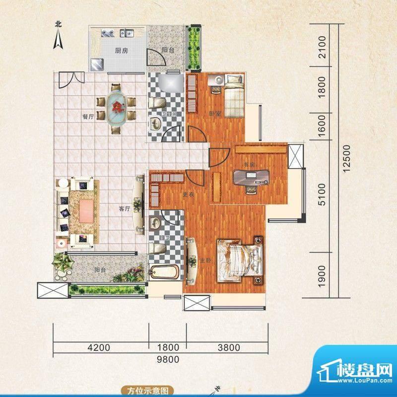 锦江国际新城6/5栋0面积:141.00m平米