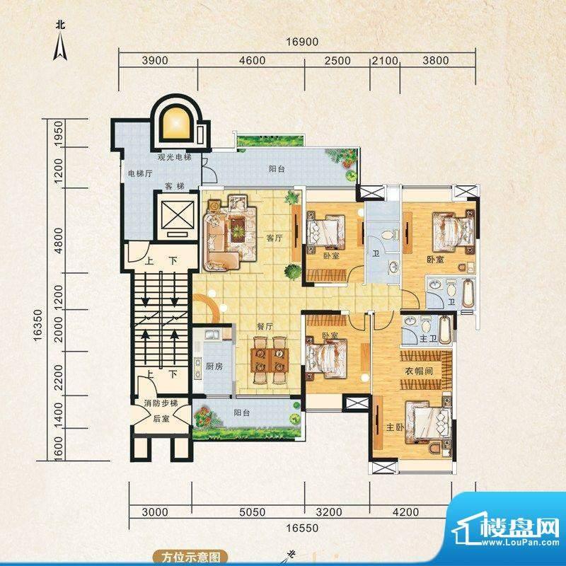 锦江国际新城8/7栋0面积:176.00m平米