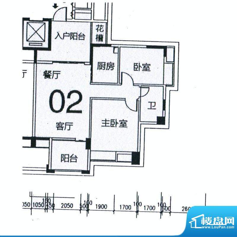 天骄半岛帝江3栋标准面积:91.02m平米