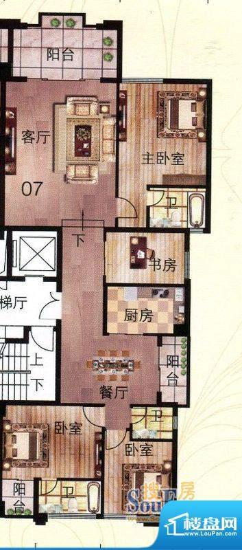 伯爵半岛产权式酒店面积:171.81m平米