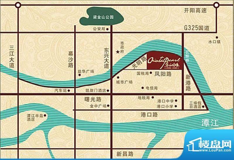 东方明珠交通图