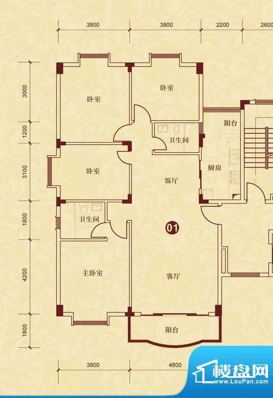 侨雅花苑4期9、10号面积:151.22m平米