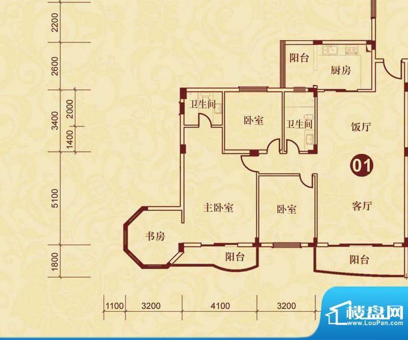 侨雅花苑4期12号楼标面积:157.92m平米