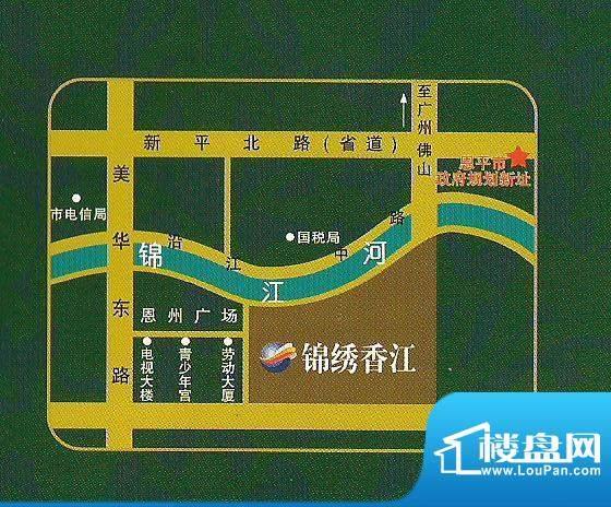 锦绣香江交通图