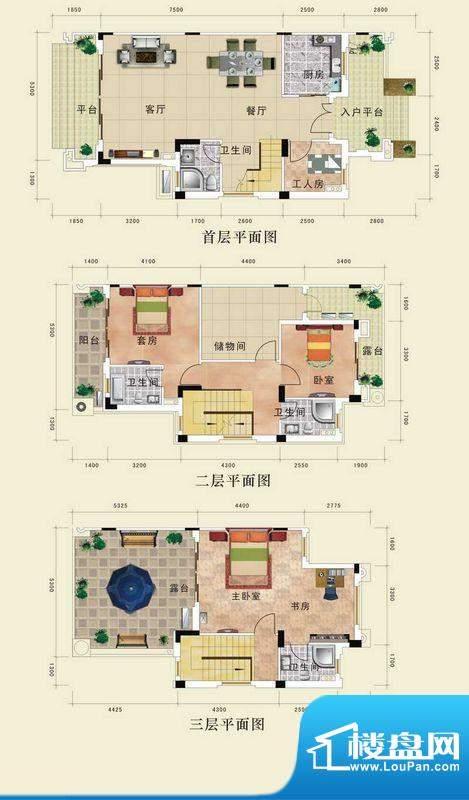 恩平锦江花城首期山面积:186.10m平米