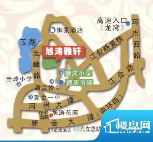旭涛雅轩交通图
