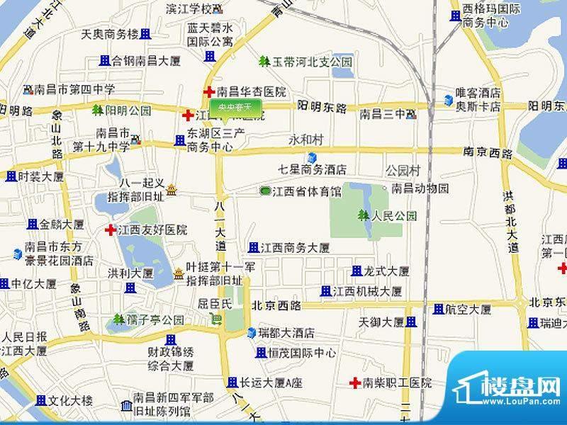 央央春天交通图