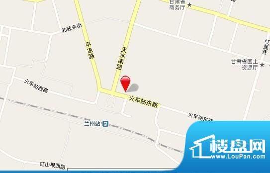 甘肃财富中心交通图