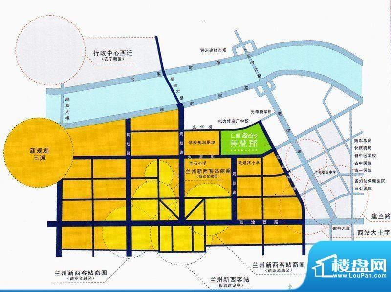 仁恒美林郡交通图