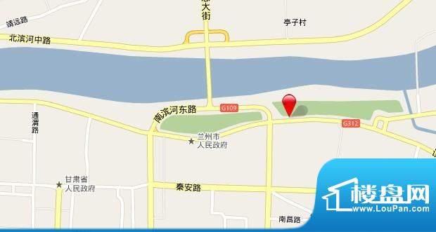 天成金色堤岸交通图