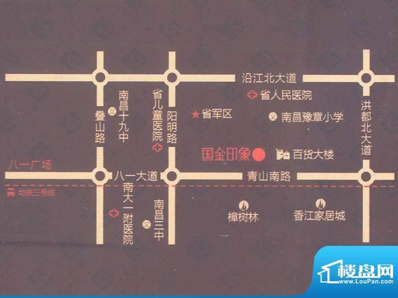 国金印象交通图